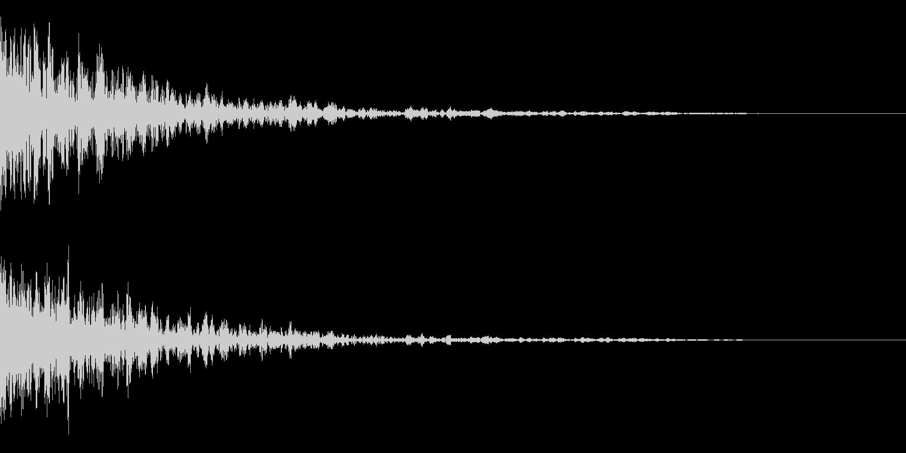 映画に合う効果音07の未再生の波形