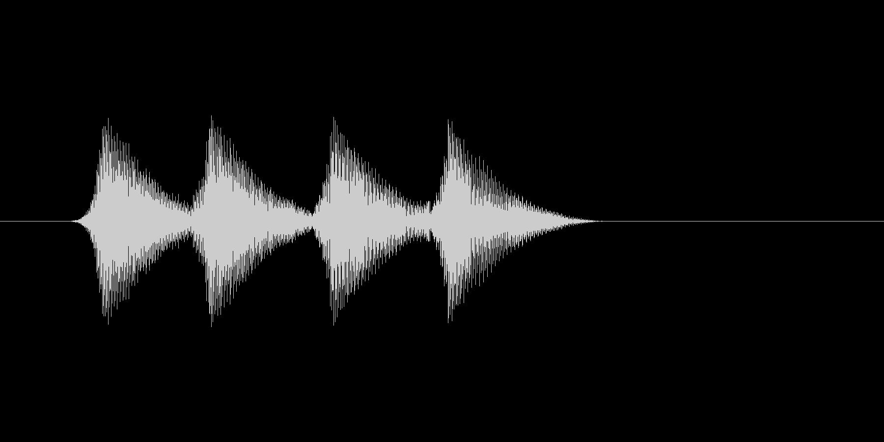 ファミコン風効果音 キャンセル系 14の未再生の波形