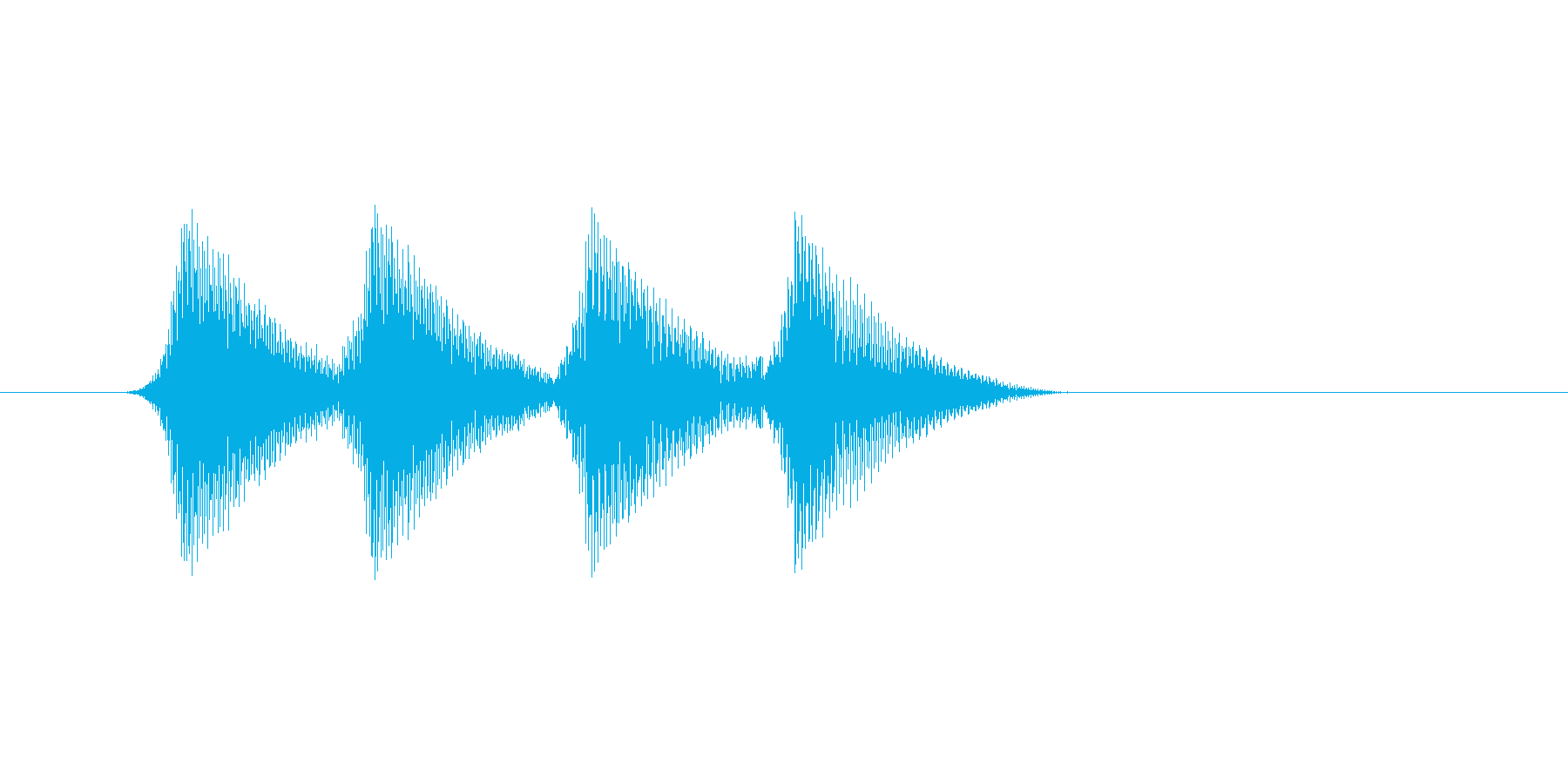 ファミコン風効果音 キャンセル系 14の再生済みの波形