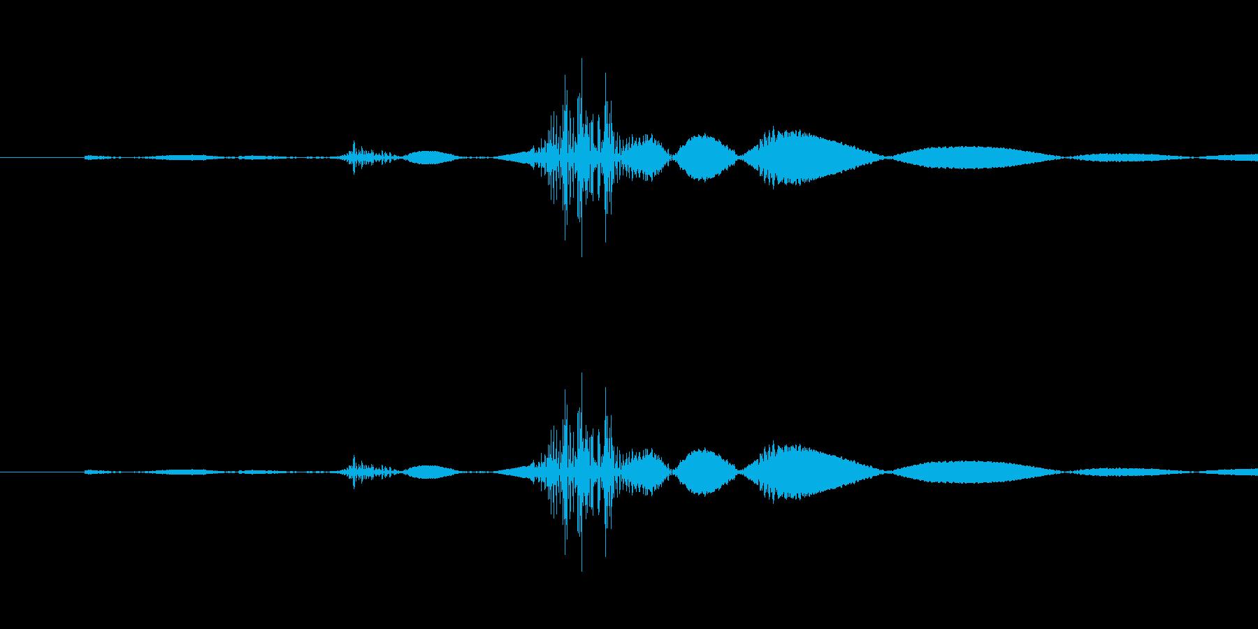 スイッチ・着火の再生済みの波形