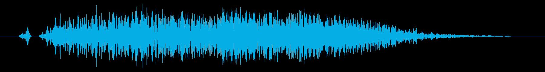 【打撃音11】パンチやキックに最適です!の再生済みの波形