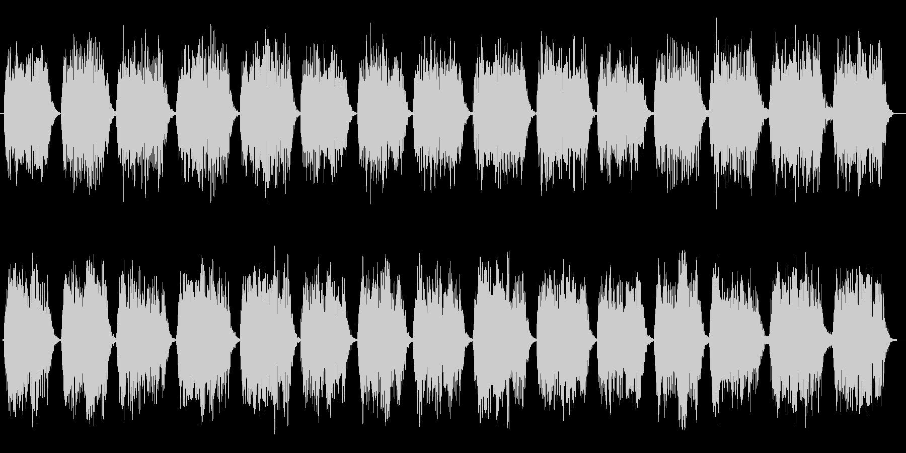 第六のチャクラ瞑想をA(ラ)の音での未再生の波形