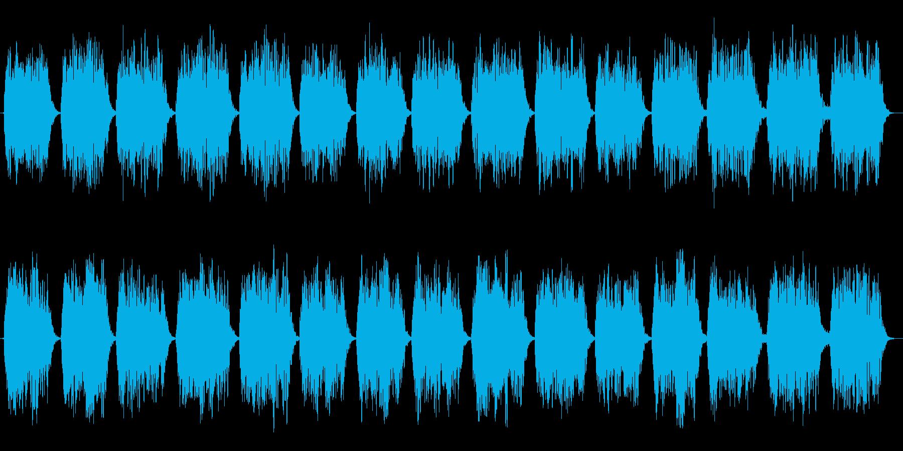 第六のチャクラ瞑想をA(ラ)の音での再生済みの波形