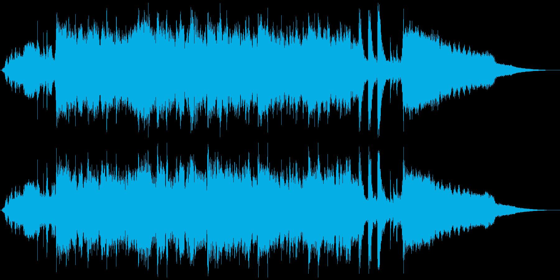 フルートがおしゃれでメロウなジングルの再生済みの波形