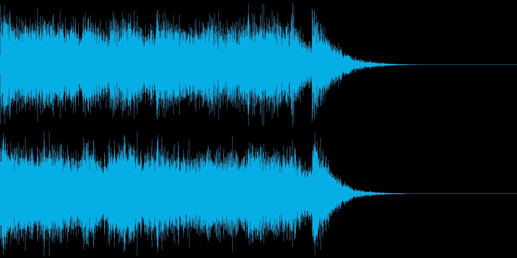 より豪快なブラス!(5秒)の再生済みの波形