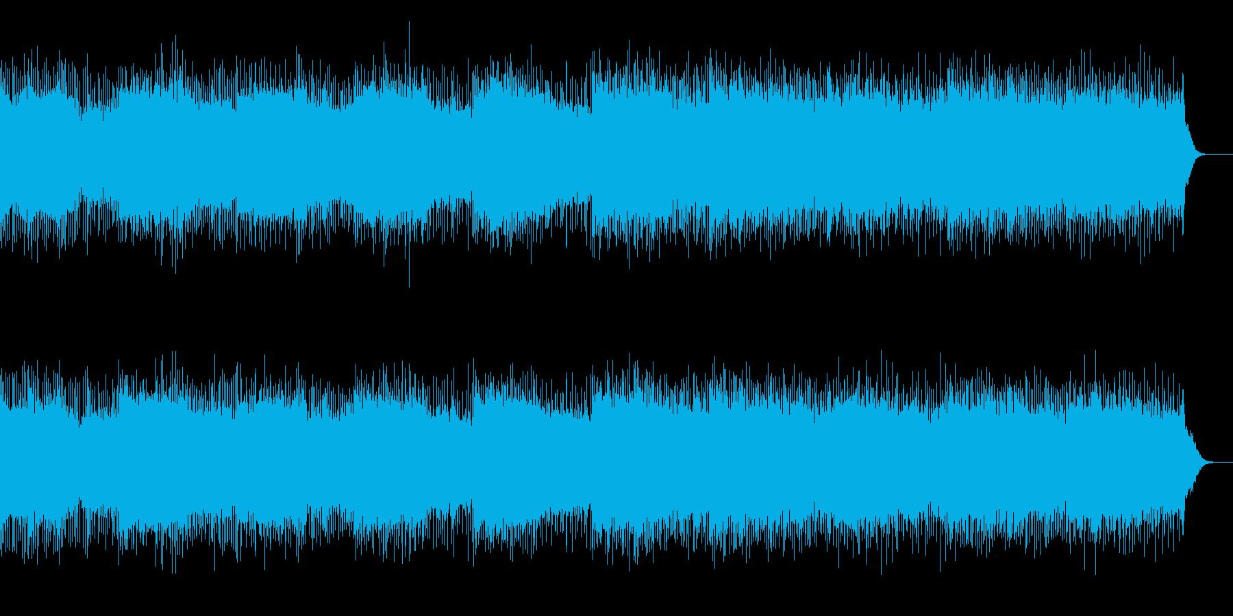 メロディーのないオルタナティブロックの再生済みの波形