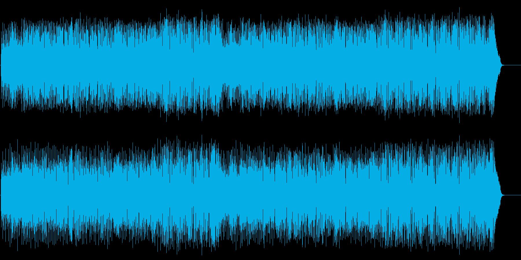 青空の似合う軽快なフュージョンの再生済みの波形