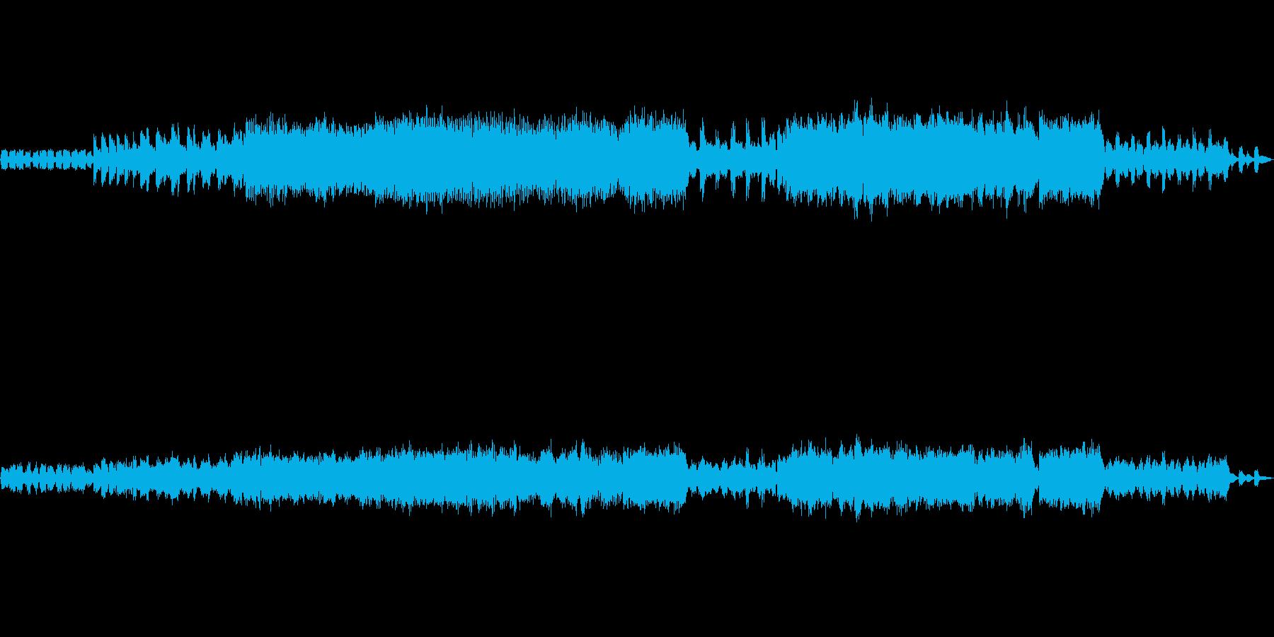 ピアノとフルートの曲。唱歌風。の再生済みの波形