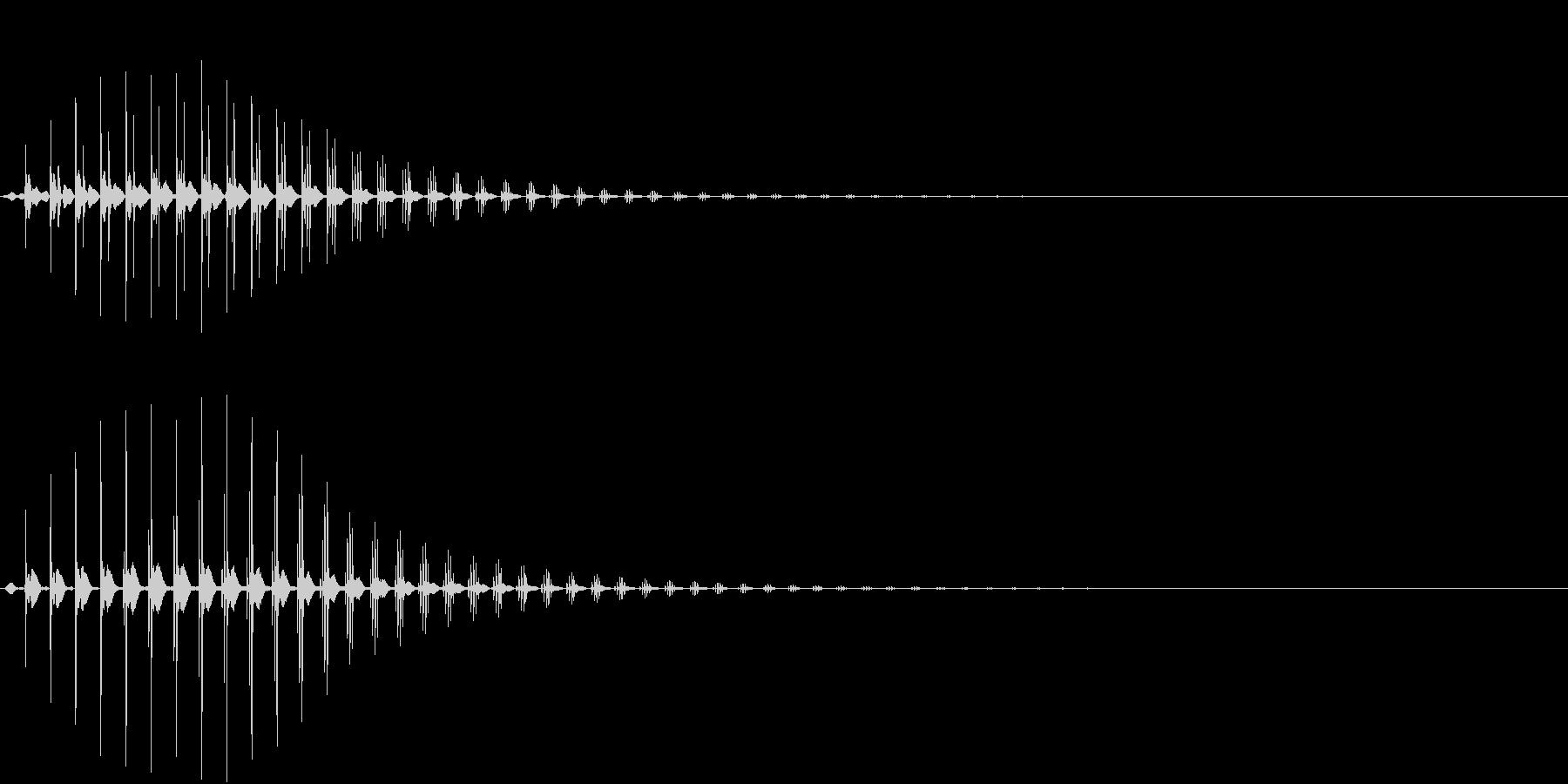 SF CinemaFX 未来の機械音の未再生の波形