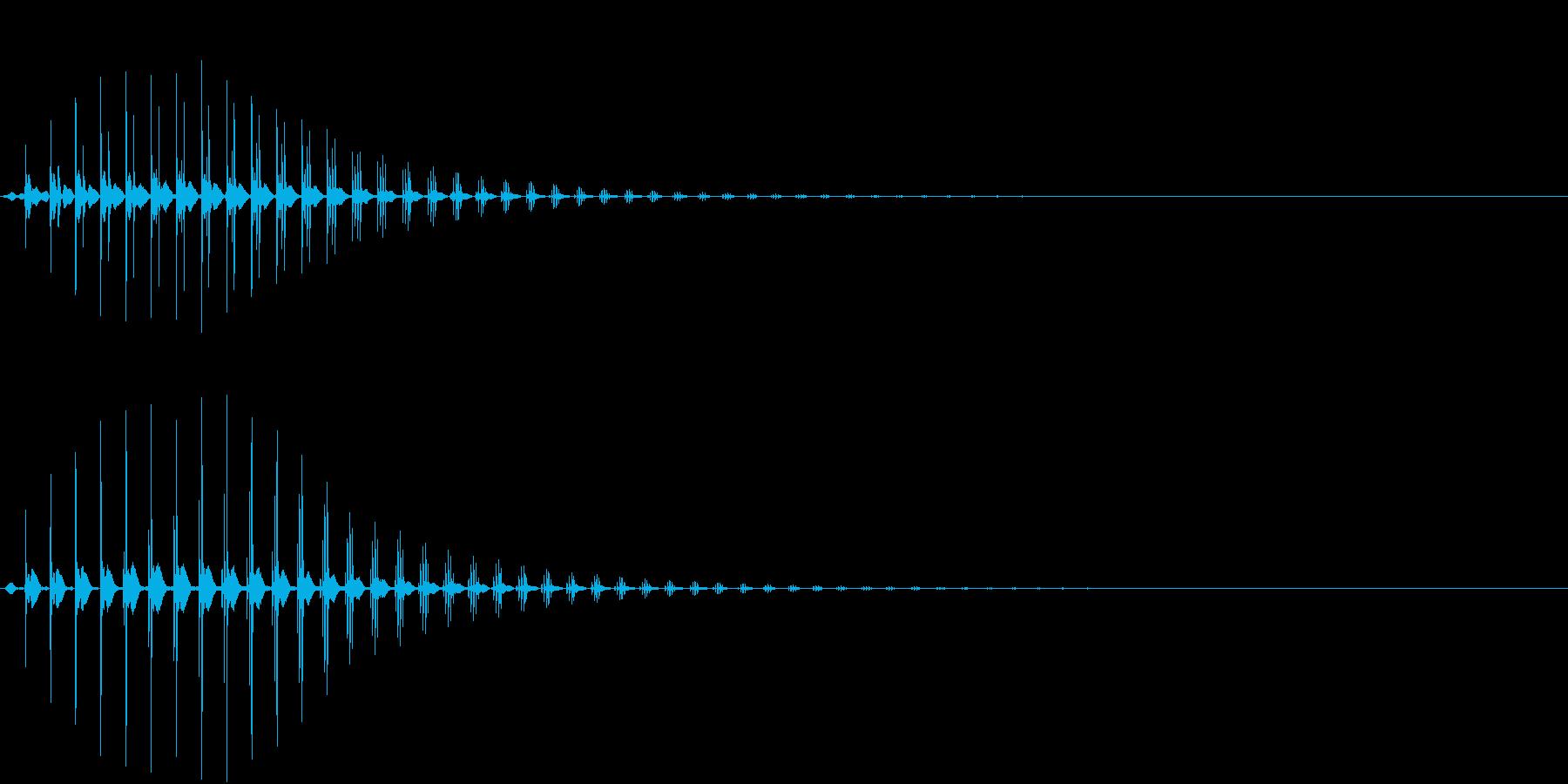 SF CinemaFX 未来の機械音の再生済みの波形