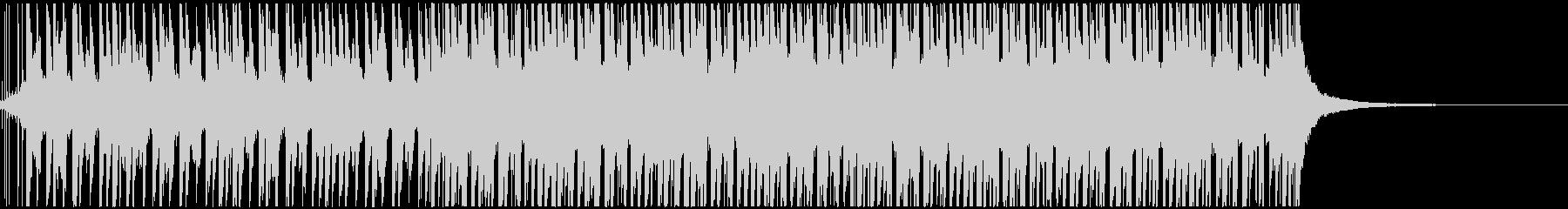 トロピカルで明るいハウス(ショート)の未再生の波形