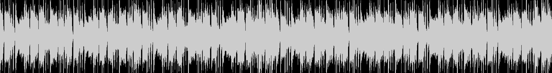 待機画面のBGMの未再生の波形