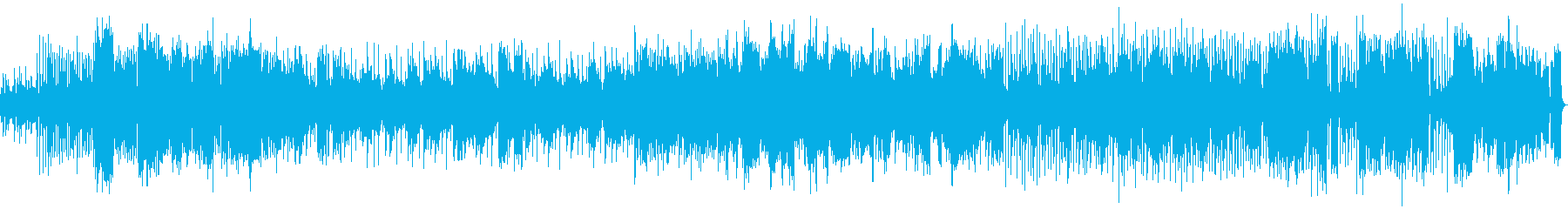 エレピと弦楽器のジャズ風インストの再生済みの波形