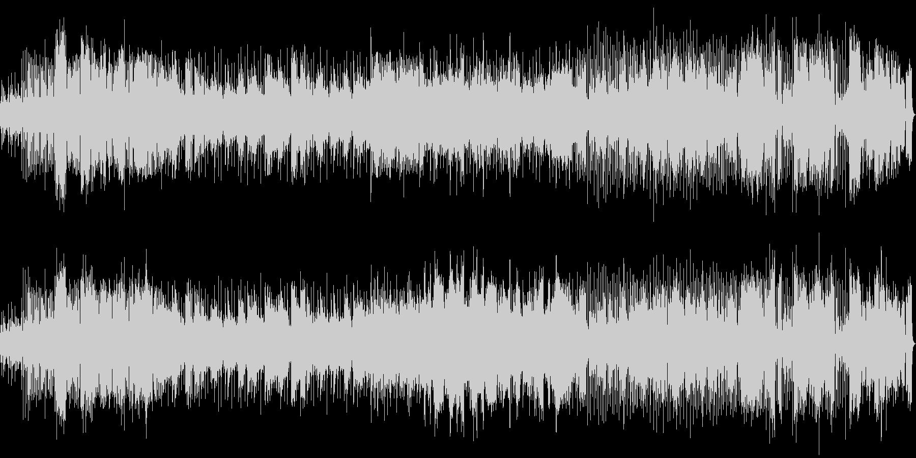 エレピと弦楽器のジャズ風インストの未再生の波形
