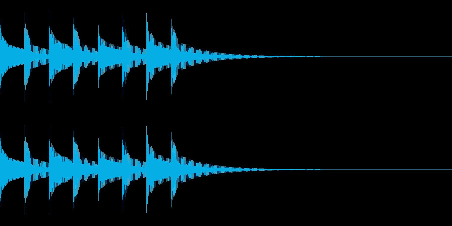 FX・SE/着信音/コール/アラーム/2の再生済みの波形