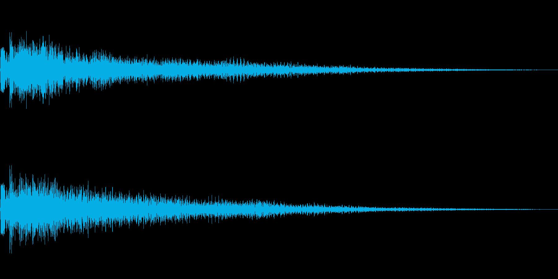 [ピョイン]選択音(コミカル)の再生済みの波形