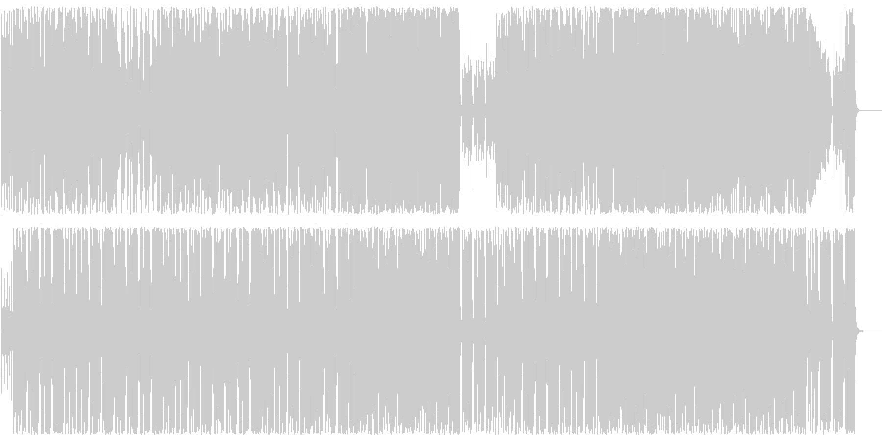 メローでクールなエレキロックサウンドの未再生の波形
