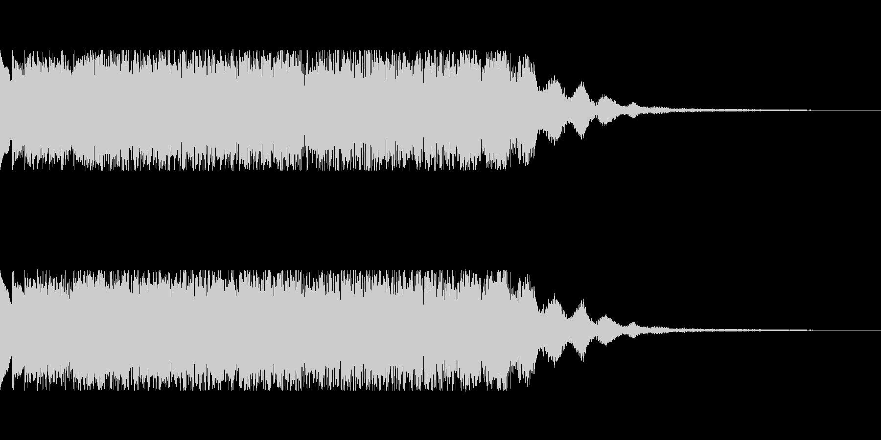 発車メロディ風2の未再生の波形