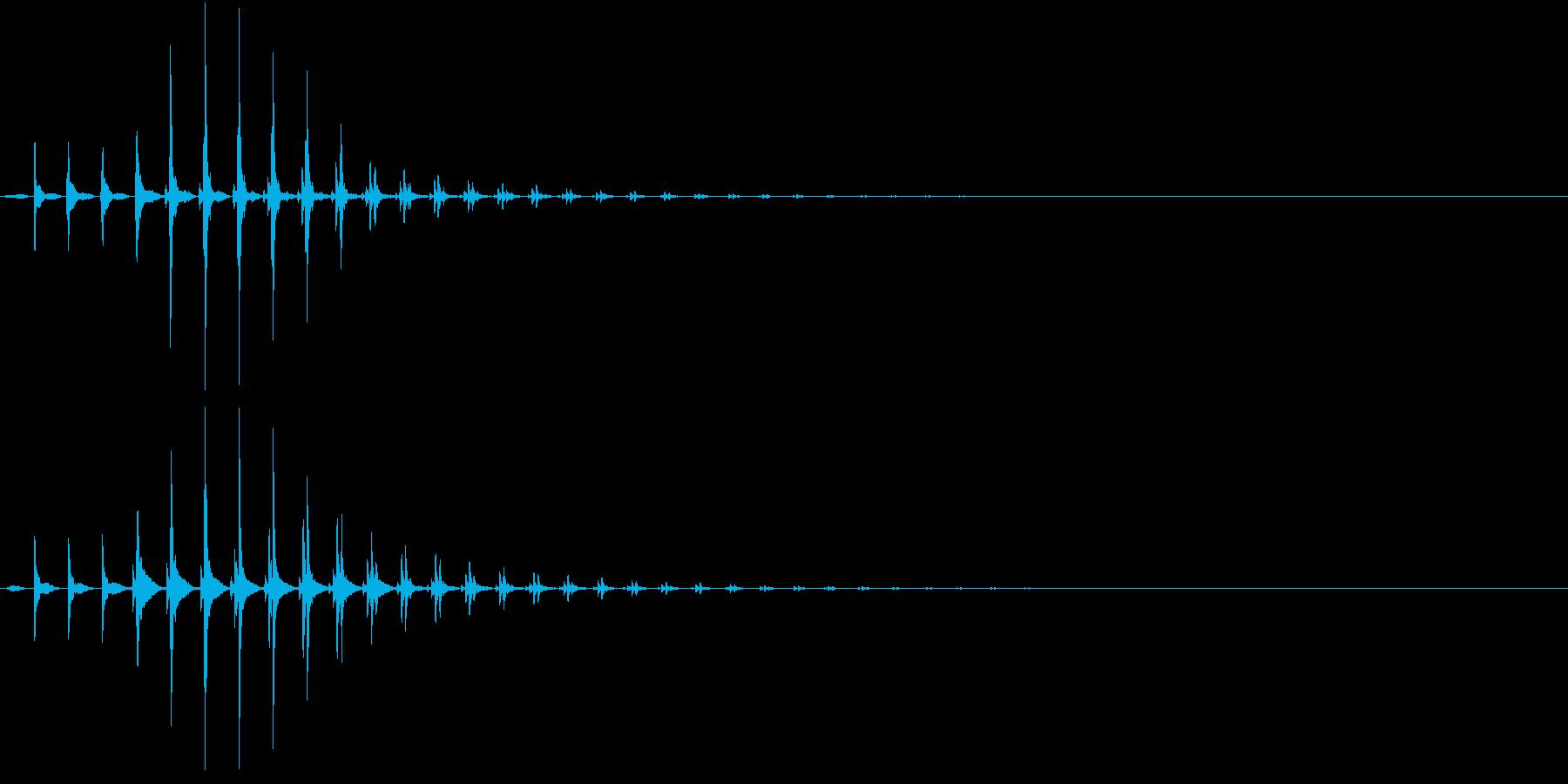 SF CinemaFX 未来の通信音の再生済みの波形