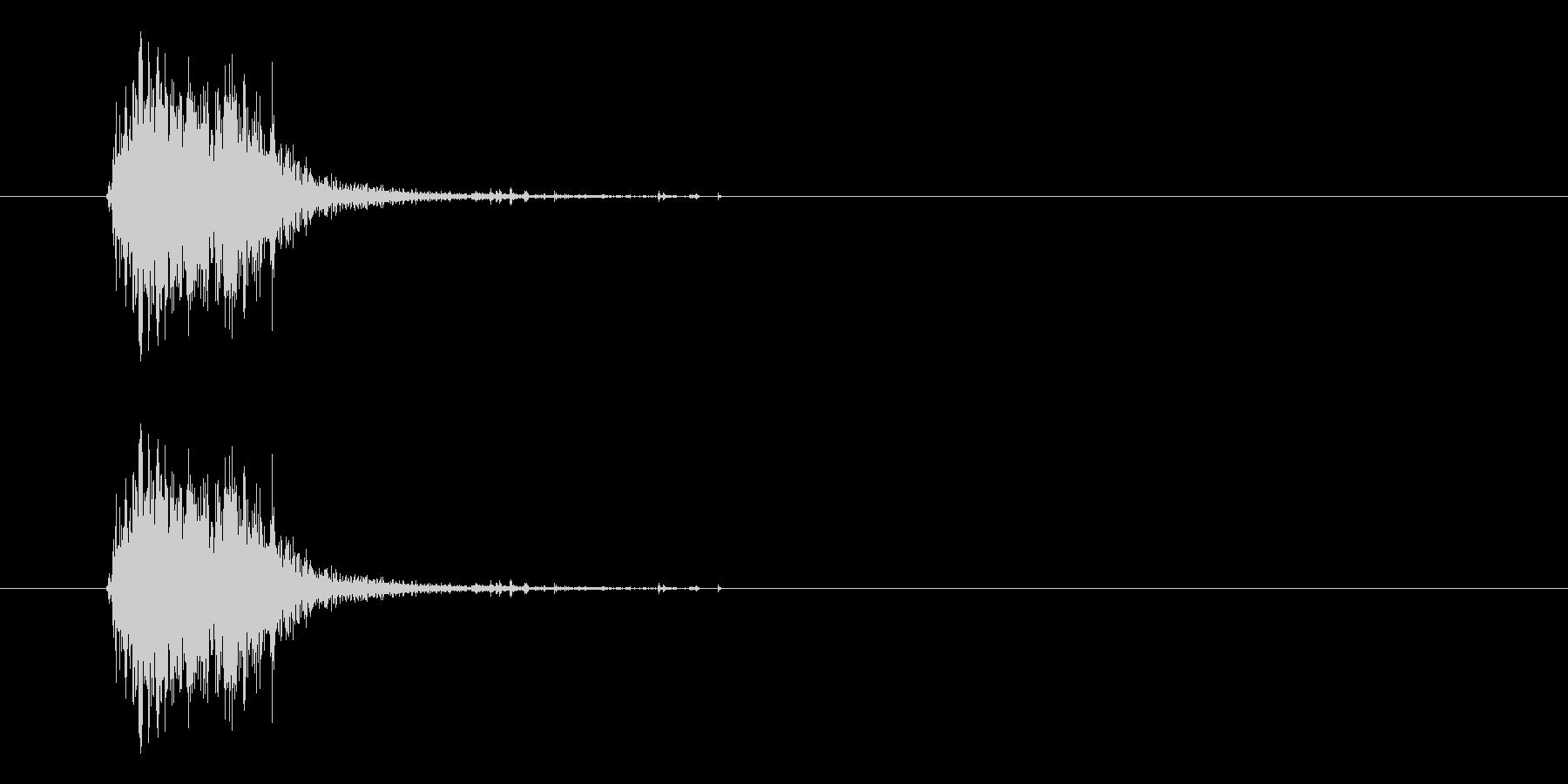 液状ゲル発射の未再生の波形