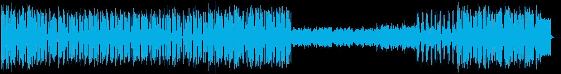 爽やかなピアノポップスの再生済みの波形