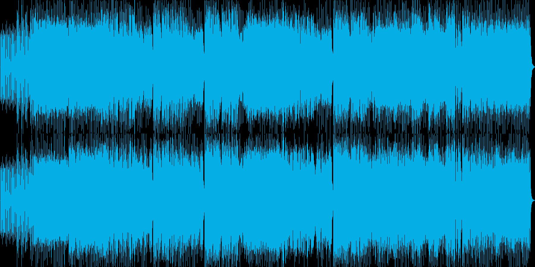 攻撃的でノスタルジックの再生済みの波形