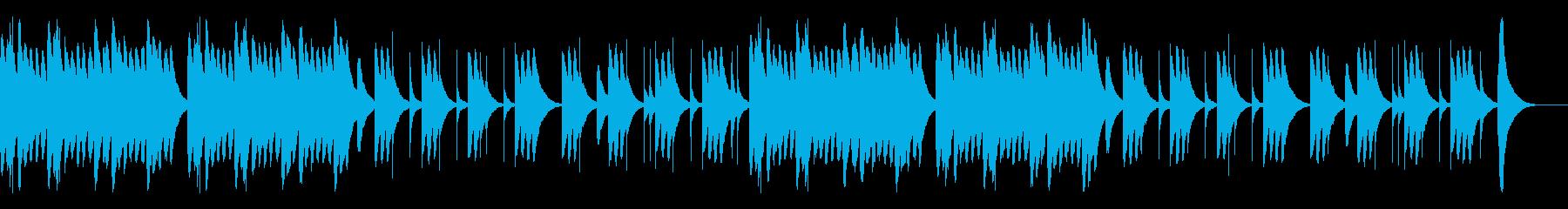 可愛らしくて切ないオルゴールBGMの再生済みの波形