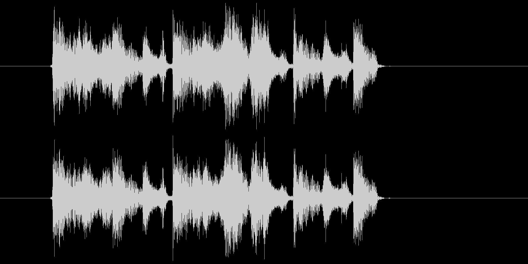 シュビドゥパパ(コミカル、ボイス音)の未再生の波形