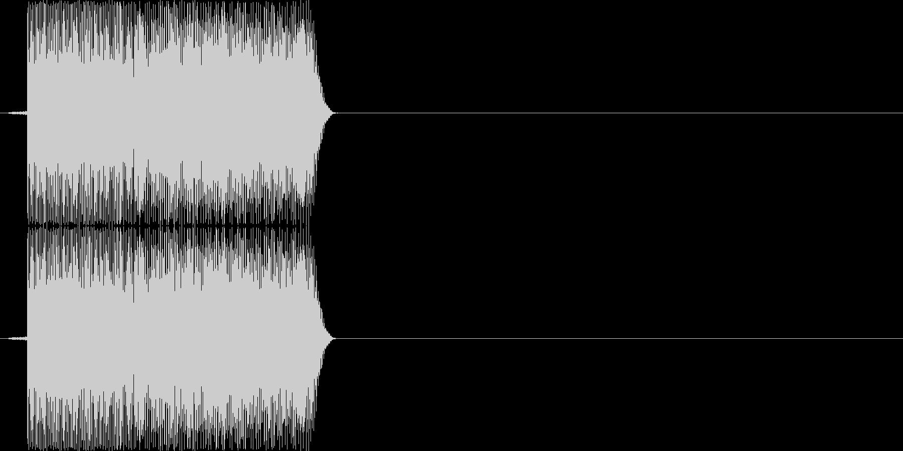 ピロッ(PC、ロボット、決定音)の未再生の波形