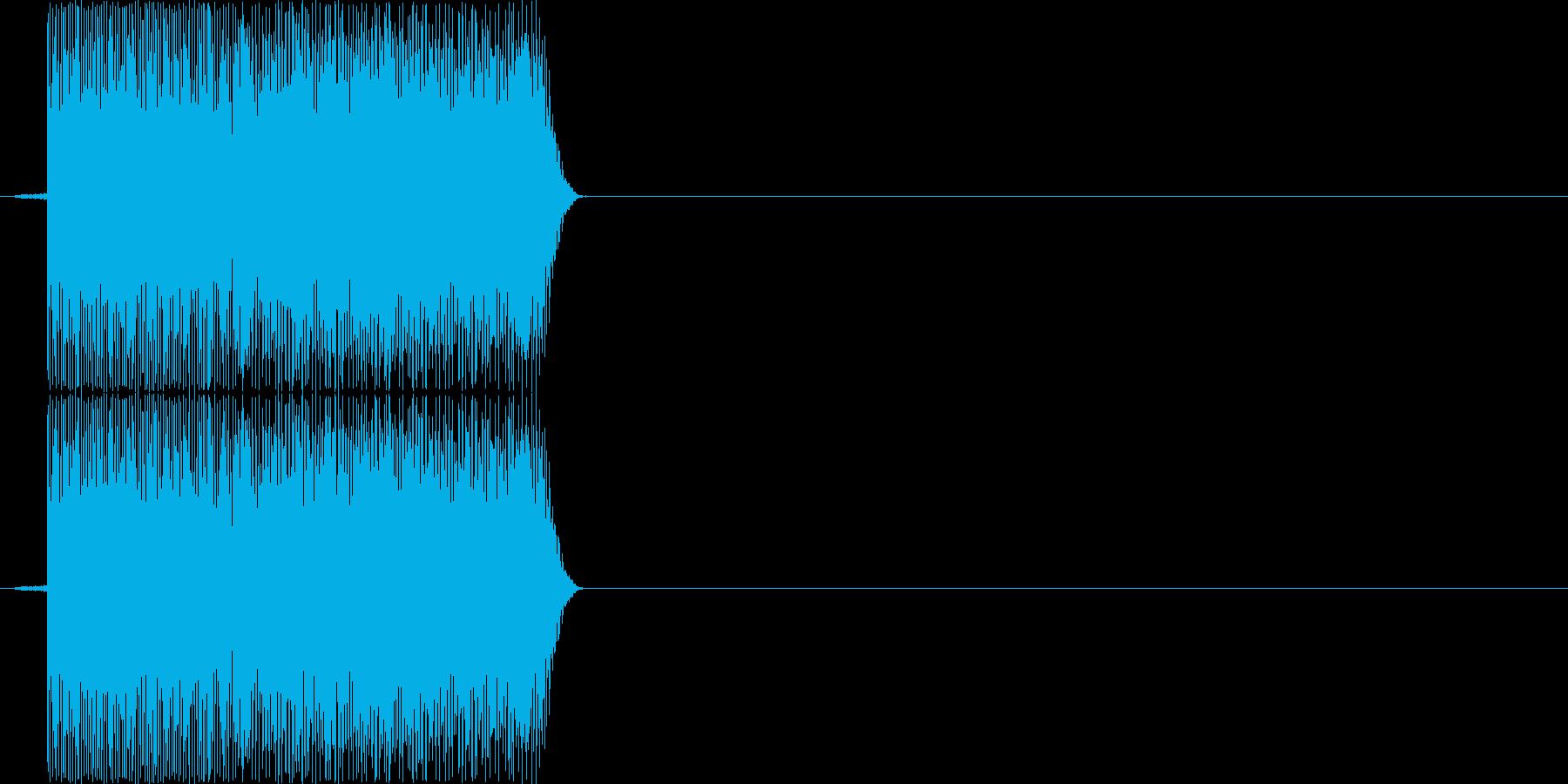 ピロッ(PC、ロボット、決定音)の再生済みの波形