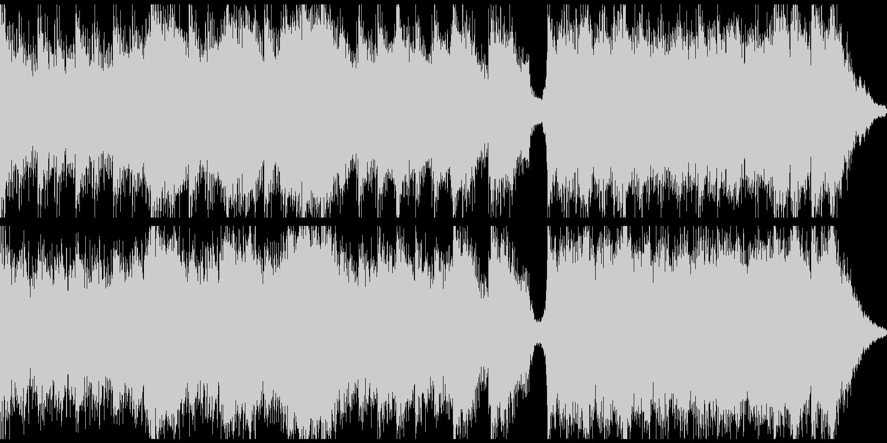 ピアノ&ホラーシネマティック(ループ)の未再生の波形