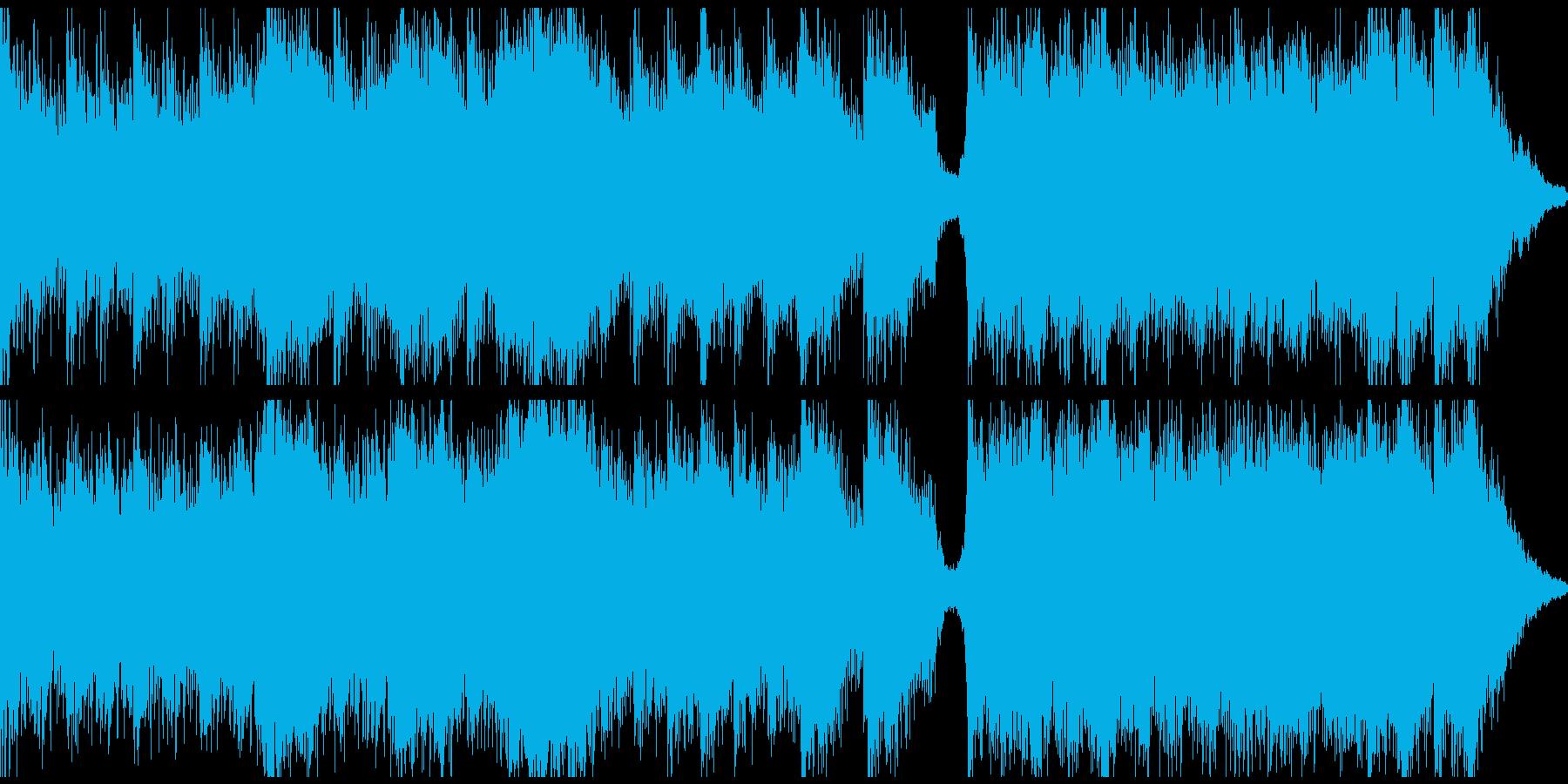 ピアノ&ホラーシネマティック(ループ)の再生済みの波形