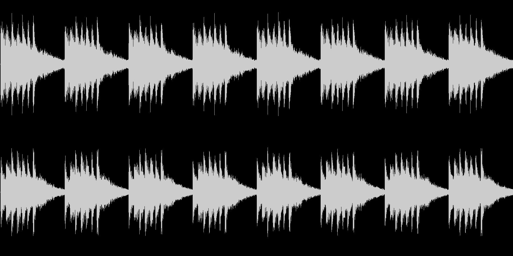 明るくおしゃれなかわいい着信音の未再生の波形