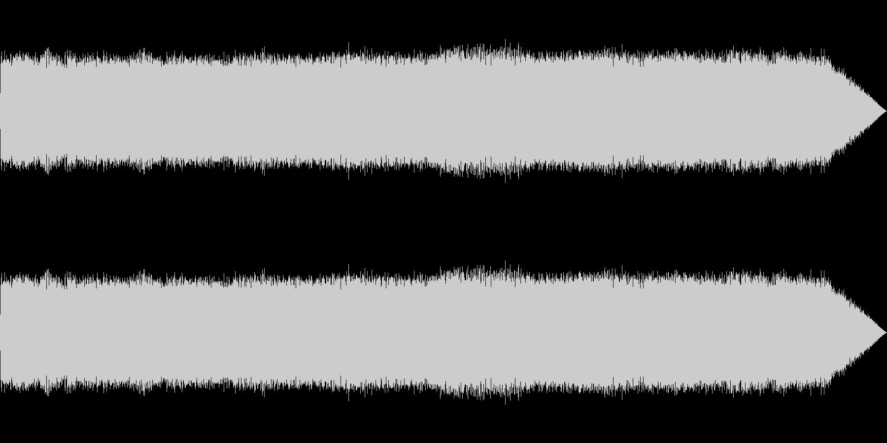 【生録音】ギターアンプノイズ03の未再生の波形