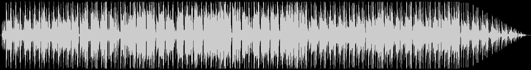 ジャックスイング風の夜のBGMの未再生の波形