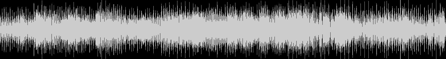 オープニング・ダンスミュージック・ループの未再生の波形