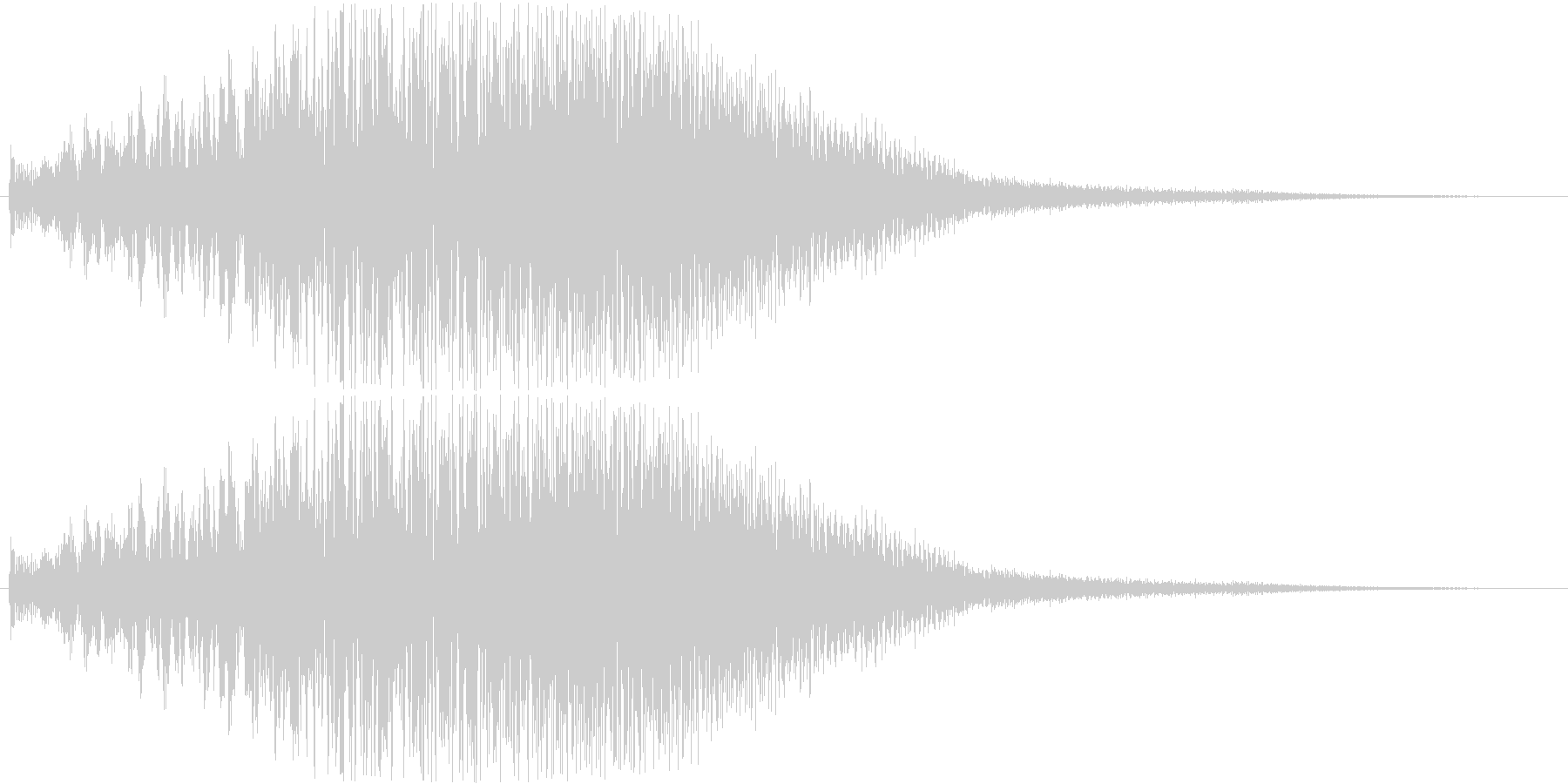 ティロロロロロロロロロロロロロンの未再生の波形