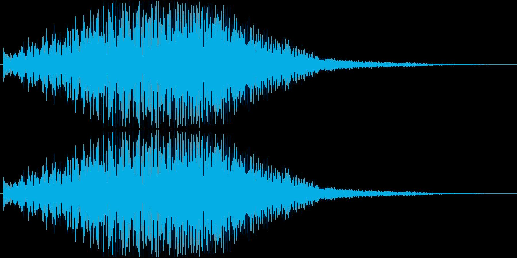 ティロロロロロロロロロロロロロンの再生済みの波形