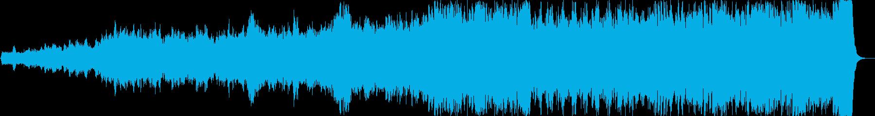 巨大プロジェクト始動!壮大な交響的序曲の再生済みの波形