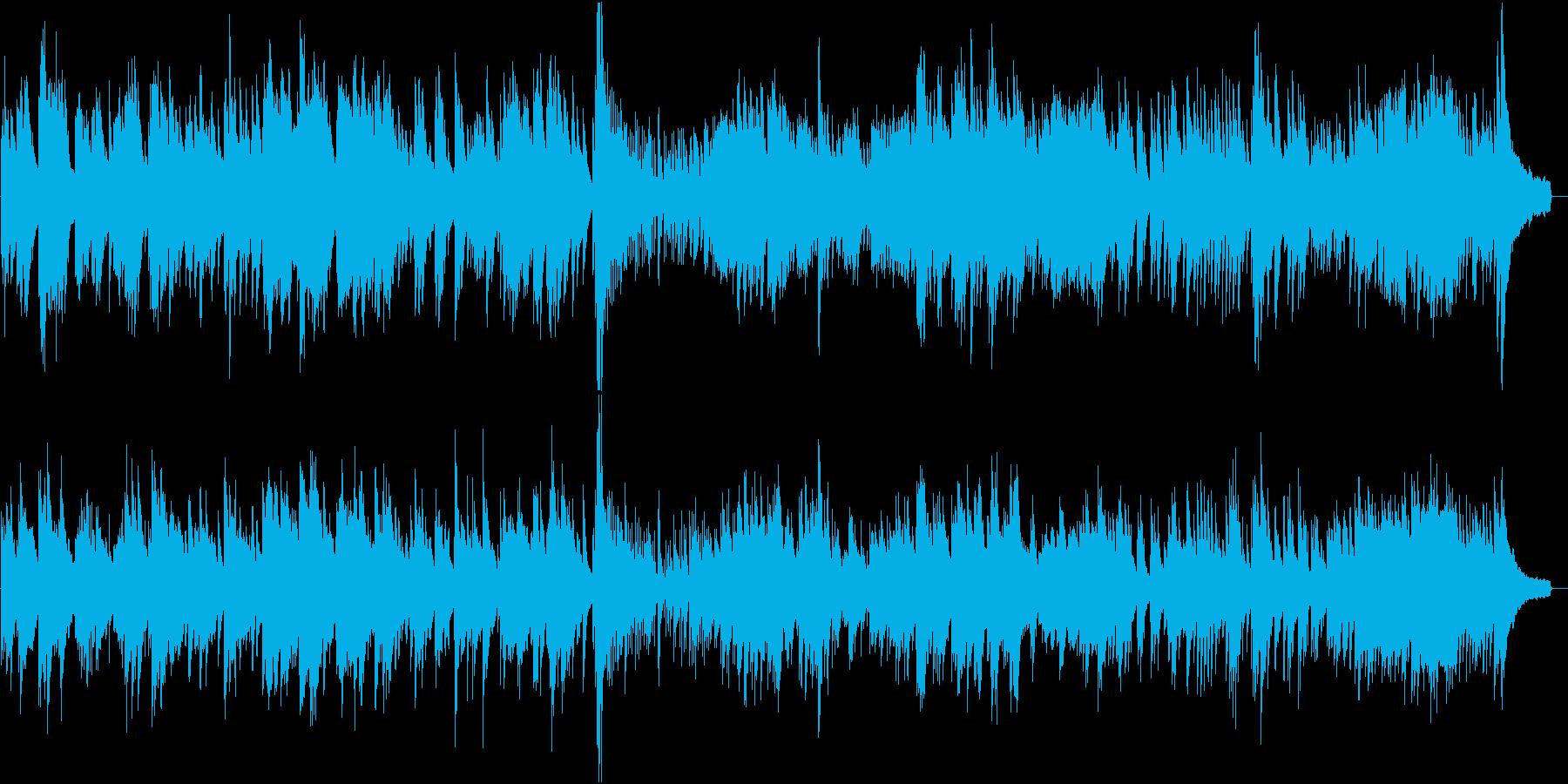 和風のピアノソロ。一寸先の儚さの様を表現の再生済みの波形