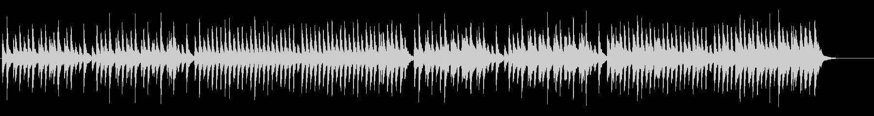 朗読用BGM(悲しいオルゴール)の未再生の波形