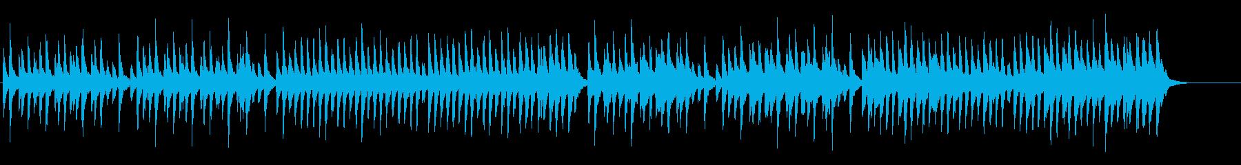 朗読用BGM(悲しいオルゴール)の再生済みの波形
