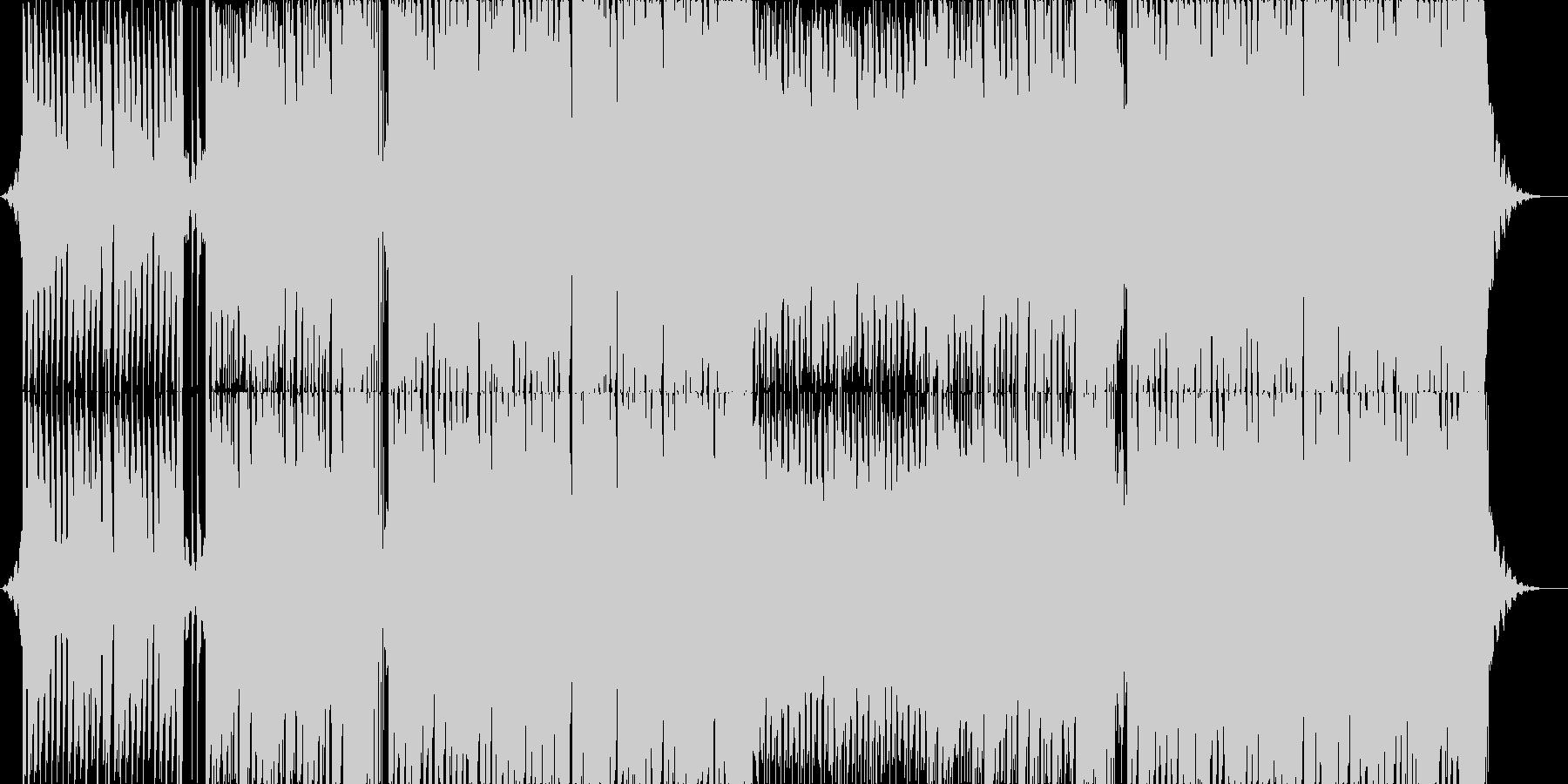 爽やかで明るいEDMの未再生の波形