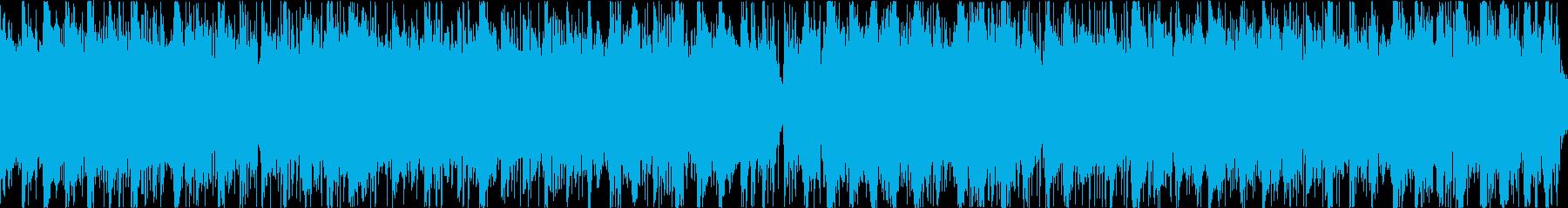 世界観のあるゲームに使える奇妙な感じの曲の再生済みの波形