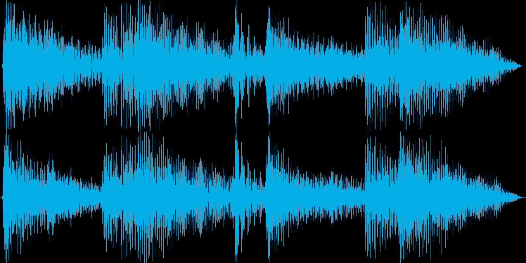 ピアノが綺麗なジャズの再生済みの波形