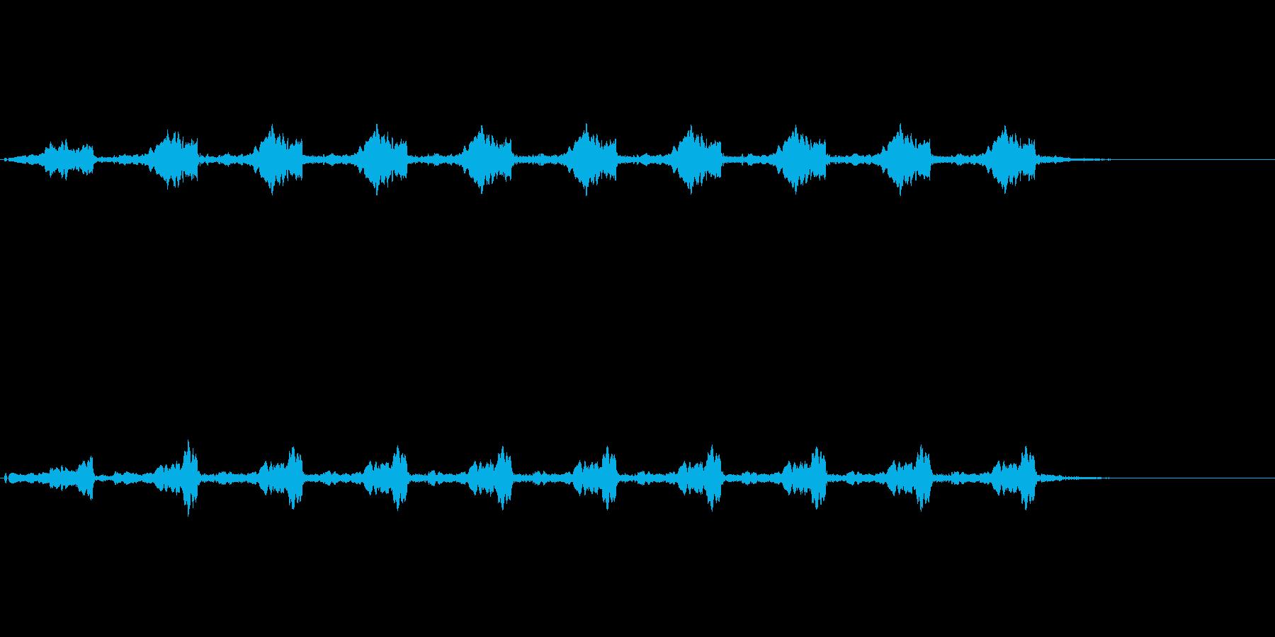 緊急事態発生 警報 サイレンの再生済みの波形