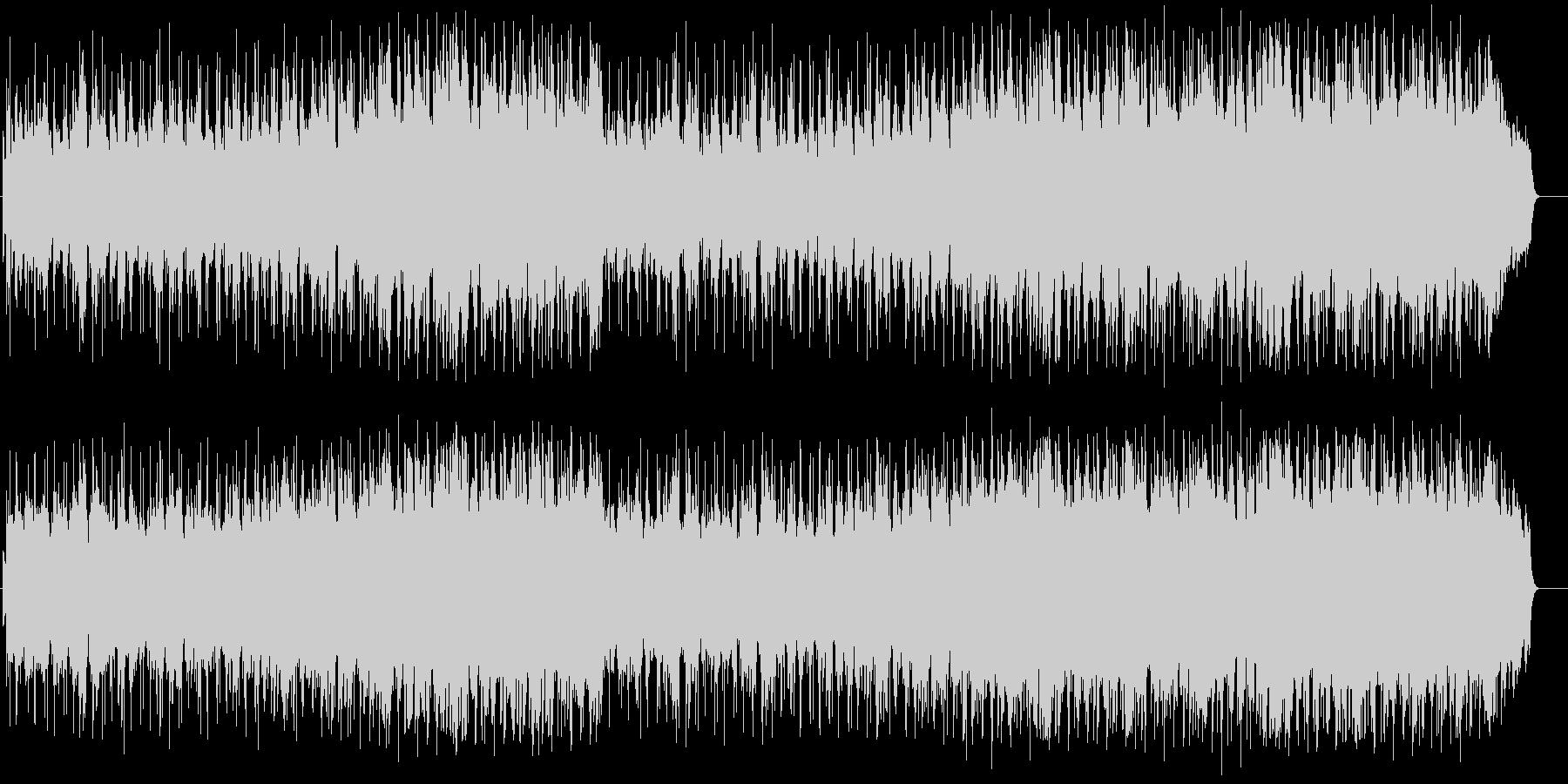 ムードのある大人のエレガントなジャズの未再生の波形