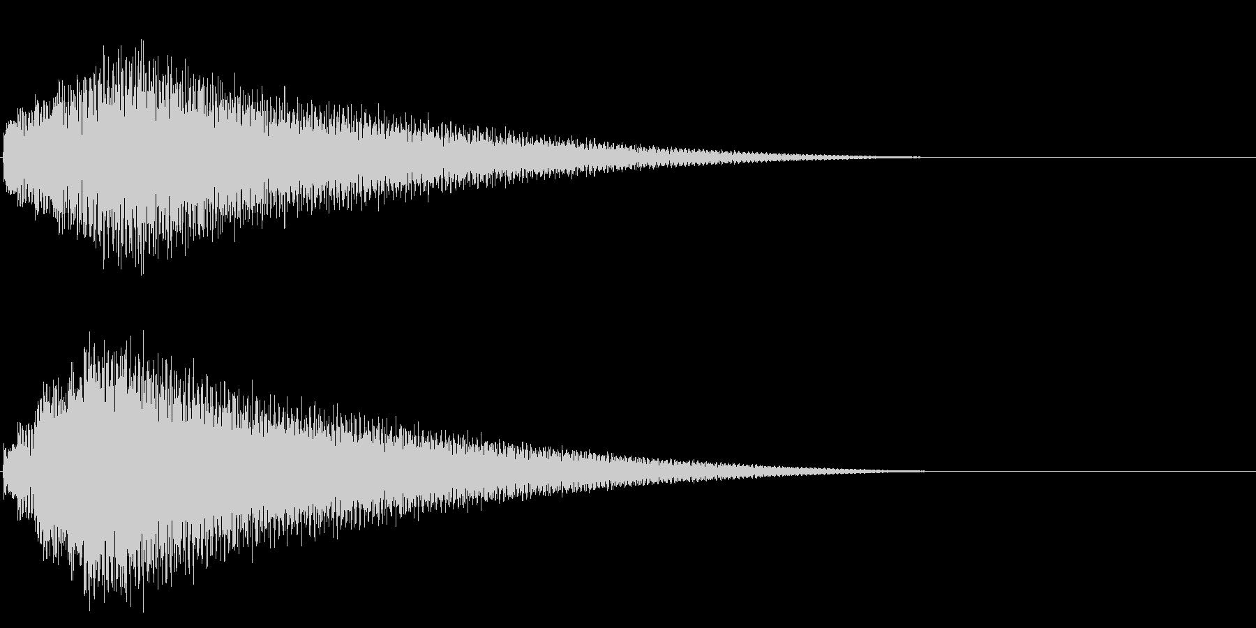 グリッサンド08 ビブラフォン(下降)の未再生の波形