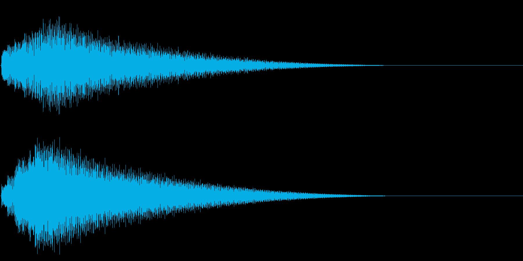 グリッサンド08 ビブラフォン(下降)の再生済みの波形