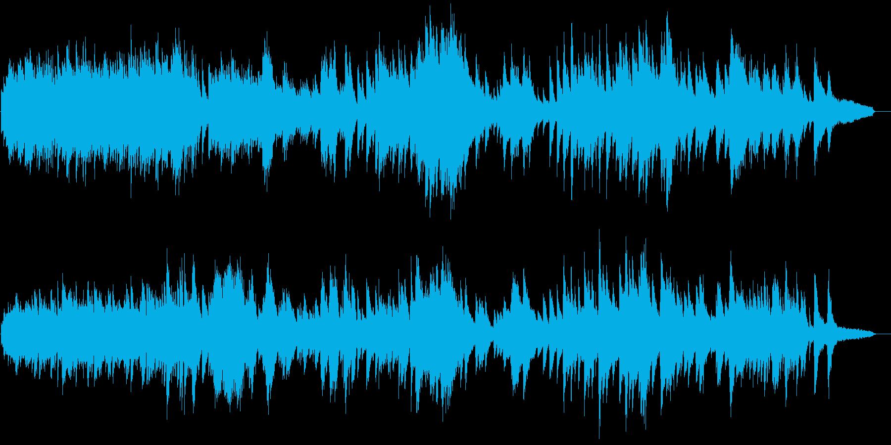 ヒーリング用ピアノ曲。落ち着きます。の再生済みの波形